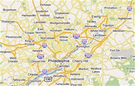 map of southern pa southeastern pennsylvania