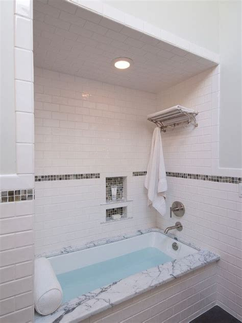 tile inset bathroom small traditional cape cod style