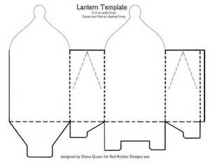 Template For Lantern by Patterns For Paper Lanterns Patterns