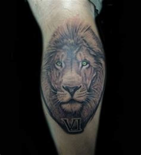 tattoo medford oregon on calf done by guillermotavera at