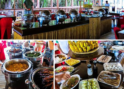 floating boat restaurant in bohol experience bohol loboc river cruise and floating