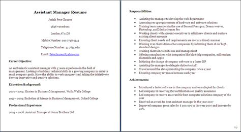 Best Resume Distribution by Cv For Manager Example Of Manager Cv Sample Cv