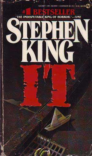 summary it by stephen king books you can now make your own things title card