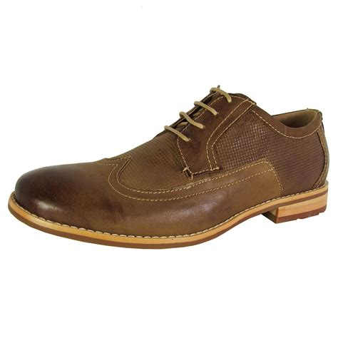 Steve Madden Oxford Shoes by Steve Madden Mens Crysp Lace Up Oxford Shoes Ebay