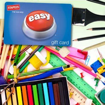 Staples Gift Card Check - get a 15 staples gift card for 7 50 immediate redemption