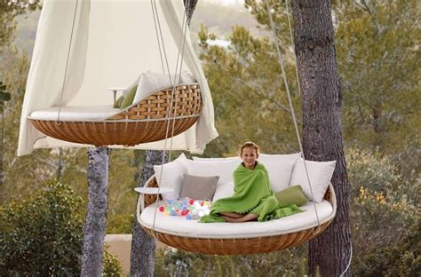 dedon swing buy the dedon swingrest hanging lounger sofa at deplain