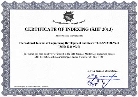 design management review impact factor 4 442 calculated by sjif year 2013 2014