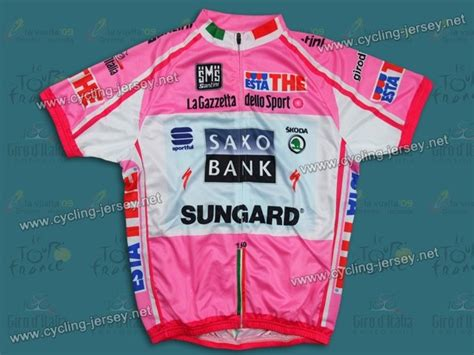 saxo bank italia 2011 giro d italia saxo bank sungard cycling jersey and