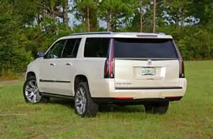 Cadillac 2015 Escalade Esv 2015 Cadillac Escalade Esv 4wd Premium Review Test Drive