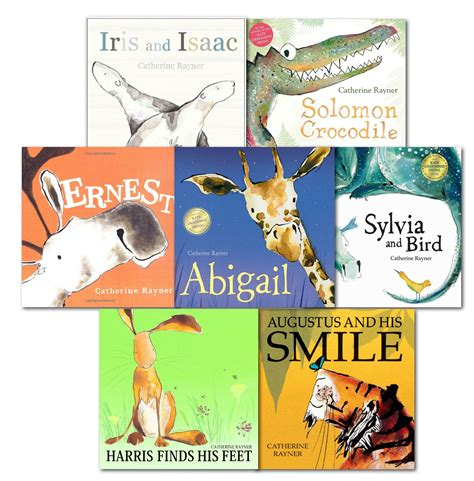 augustus does his bit books catherine rayner picture flat collection 7 books set pack