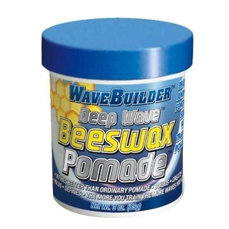 wavebuilder wax beeswax pomade 3 oz