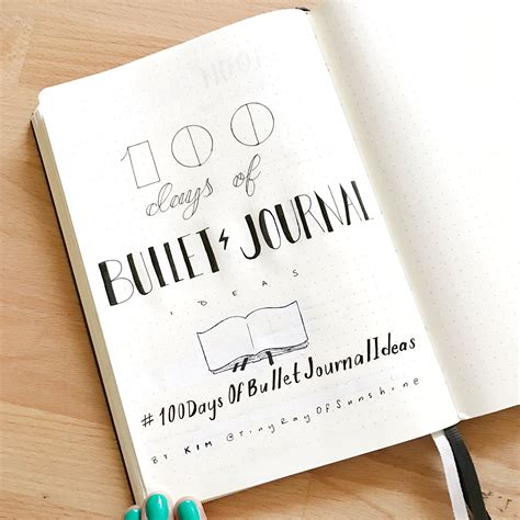 100 writing prompts inspired by social media books 100 days of bullet journal ideas bullet journal