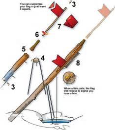 How to make ice fishing tip ups boys life magazine