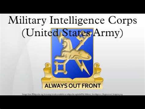 military intelligence corps united states army military intelligence corps united states army youtube