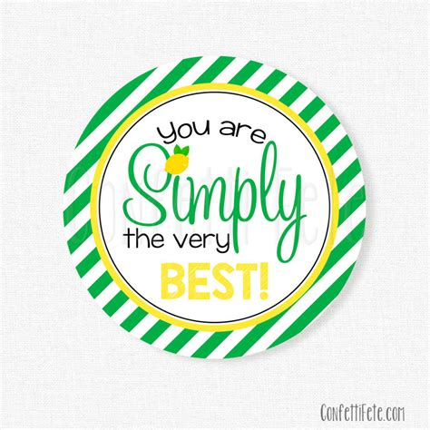best tags for you are simply the best tag appreciation gift
