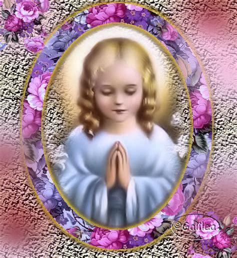 imagenes virgen maria niña santa mar 237 a madre de dios y madre nuestra a la virgen ni 241 a
