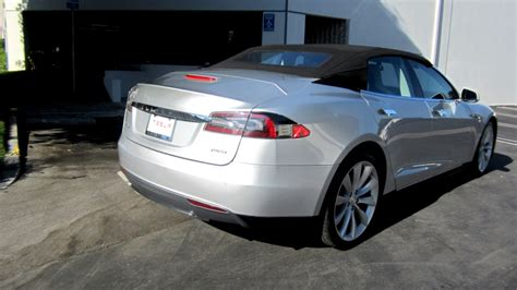 Convertible Tesla Model S Tesla Model S Convertible Is Real And It S On Ebay