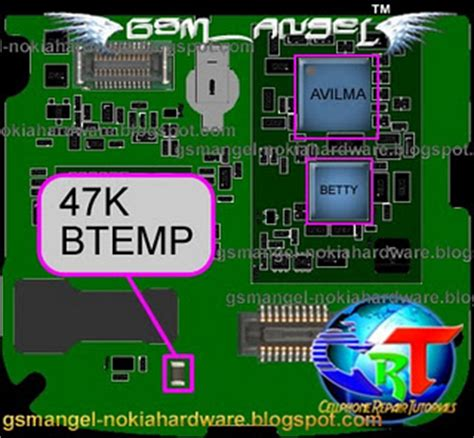 47k resistor for mobile nokia 6124c charger not supported problem solution