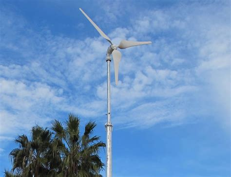 5kw small wind turbine generator 400v on grid wiond