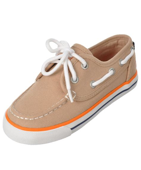 boat accessories for toddlers nautica boys quot spinnaker quot boat shoes toddler sizes 4 12 ebay