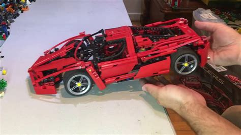 lego enzo lego review on a vintage set 8653 racers enzo 1 10