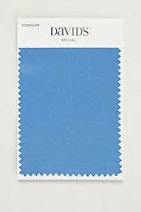 david s bridal color swatches cornflower satin fabric swatch smlswatchcornf