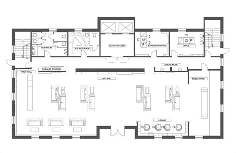 hotel lobby floor plan image gallery hotel lobby layout