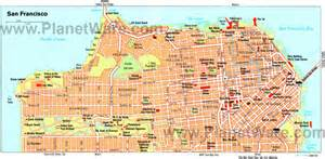 california san francisco map san francisco chinatown san francisco ca california