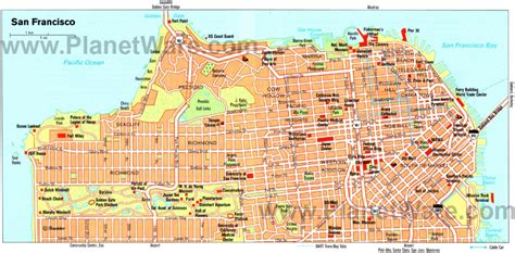 san francisco map travel san francisco chinatown san francisco ca california
