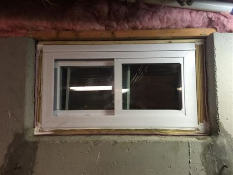 how to put in basement windows replacing basement windows set in concrete doityourself community forums