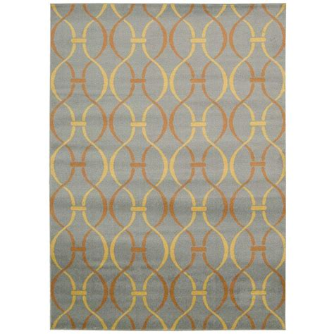 overstock gray rug nourison overstock grey 3 ft 11 in x 5 ft 3 in area rug 212207 the home depot