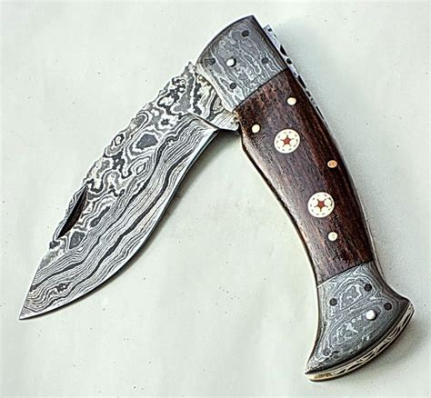 Handmade Pocket - handmade damascus folding knives folding knives