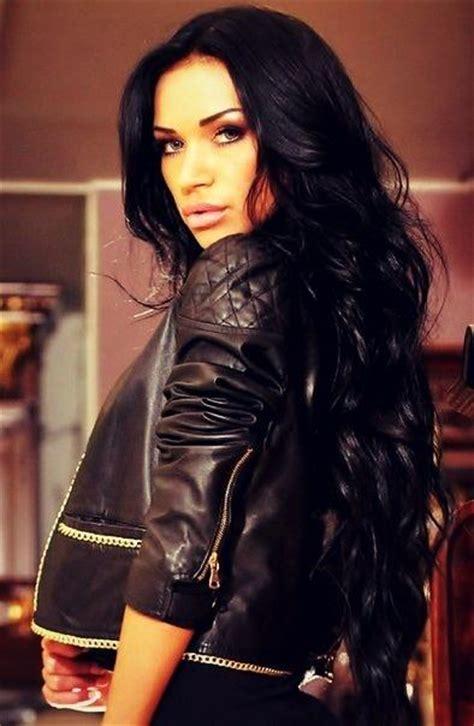 hair on black black hair