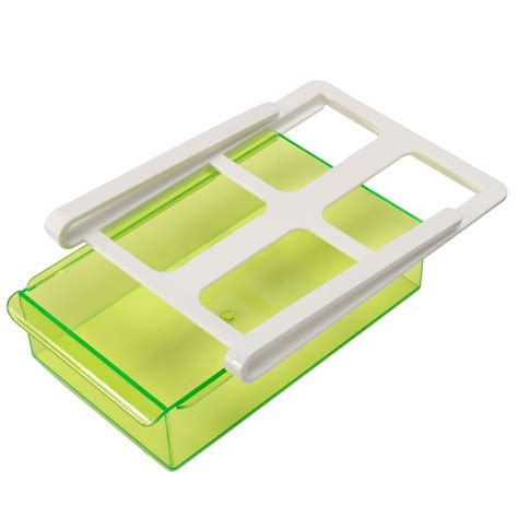 slide fridge freezer space saver organizer storage rack