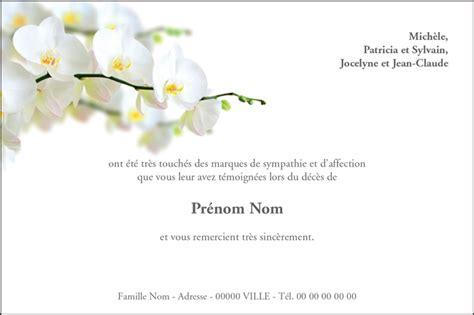 Modèle Carte Pour Obsèques