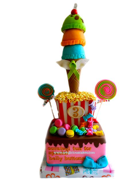 Sweet Carnival Cakes | artylicious cakes