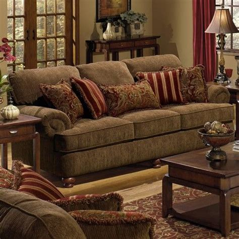 jackson furniture  belmont sofa  rolled arms