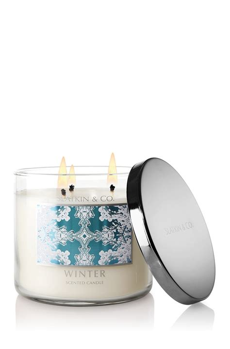 bath and body works winter candle one of my new favorites