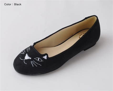 flat shoes with cat annakastle new womens cat loafer
