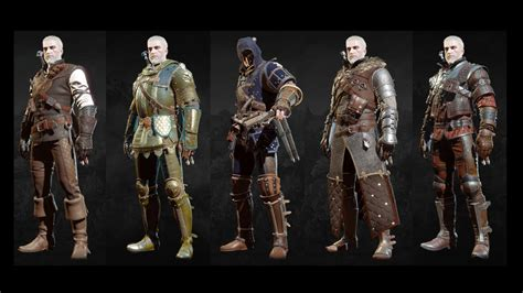 all gear the witcher 3 blood and wine all grandmaster witcher