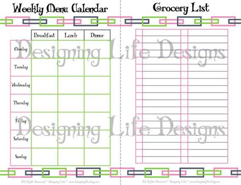 free printable meal planner kitchen set free printable real food printable kitchen set mini binder pages