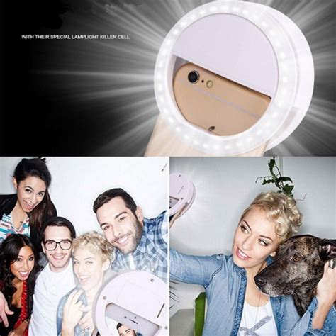 Lu Selfie Flash Light Selfie Light Selfie selfie portable flash led phone photography ring light enhancing photography for