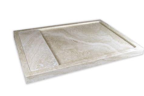 piatto doccia travertino piatto doccia in travertino con scarico a scomparsa