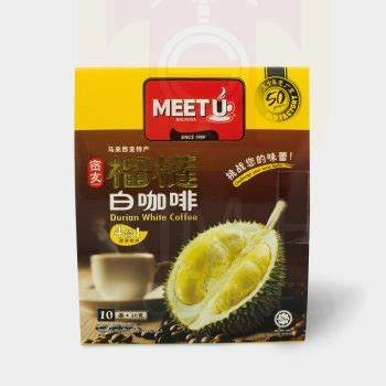 Durian White Coffee Ipoh 4in1 durian white coffee hock product centre