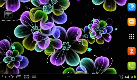 Home Design 3d Iphone App Free neon flowers live wallpaper free android live wallpaper