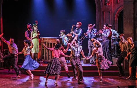 what is a swing on broadway the bandstand at paper mill playhouse a world premiere