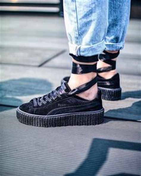 Sepatu Rihanna Rihana X By Creeper Creepers Fenty Maroon rihanna creepers perfection in a shoe sneaker