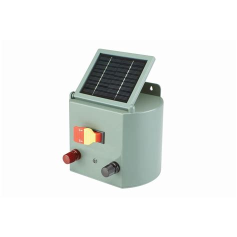 electric fence solar charger solar powered electric fence charger farm horses cattle
