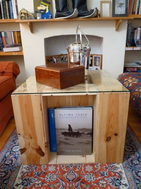 Easy Diy Coffee Table From Wine Crates Offbeat Home Life Diy Wine Crate Coffee Table