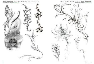 catalogo tatuaggi fiori fiori 3